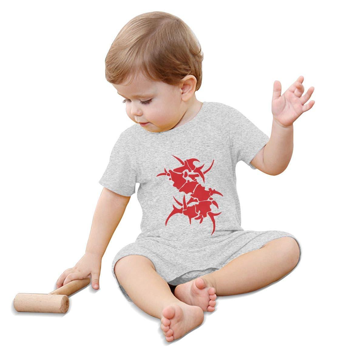 WangSiwe Sepultura Infant Boy Girl Short Sleeve Jumpsuit Summer Outfits