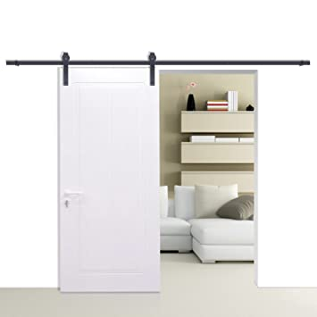 barn door hardware lowes canada interior menards sliding modern black country steel ebay