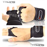 Weight Lifting Glove Fitness Glove Gym Training Gloves with open back