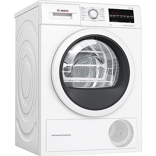 84433ee60587f9 Bosch Serie 6 WTW85449IT asciugatrice Libera installazione Caricamento  frontale Bianco 9 kg A++: Amazon.it: Grandi elettrodomestici