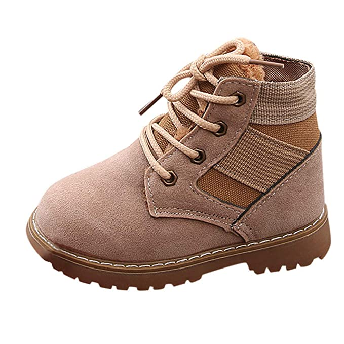 ❤ Botas Bebés Niños,Calientes Niños Niñas Sneaker Botas Niños Zapatos de Nieve Ocasionales del bebé Absolute: Amazon.es: Ropa y accesorios