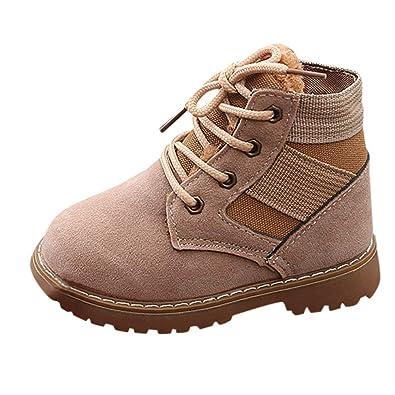 Baby Children Warm Martin Sneaker Boots,Outsta Kids Boys Girls Casual Snow Shoes Anti-Slip
