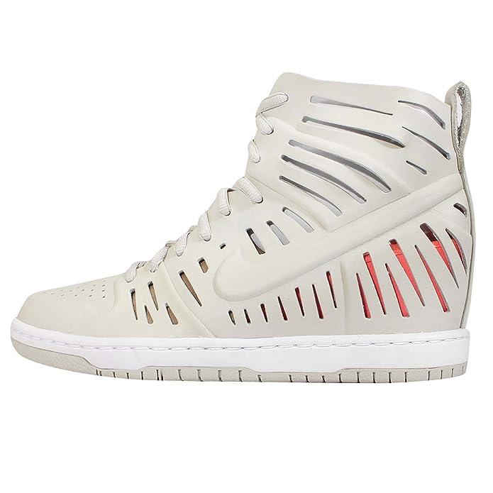 online store 290ee 022c6 Amazon.com Nike Womens Wmns Dunk Sky Hi 2.0 Joli QS, LIGHT BONELIGHT BONE  ...