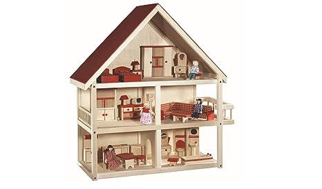 Mobili Per Bambole In Legno : Case di bambola carino camera new diy casa di bambola di legno