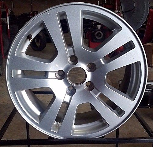 Painted Silver Alloy Wheel - 8