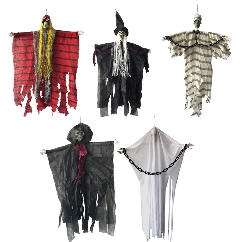 60cm Halloween Hanging Pirate Witch Prisoner Escape Horror Halloween Decorations - Pirate by Matchia
