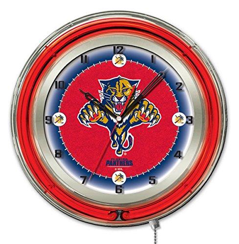 Florida Panthers Clock - Holland Bar Stool Co. Florida Panthers 19