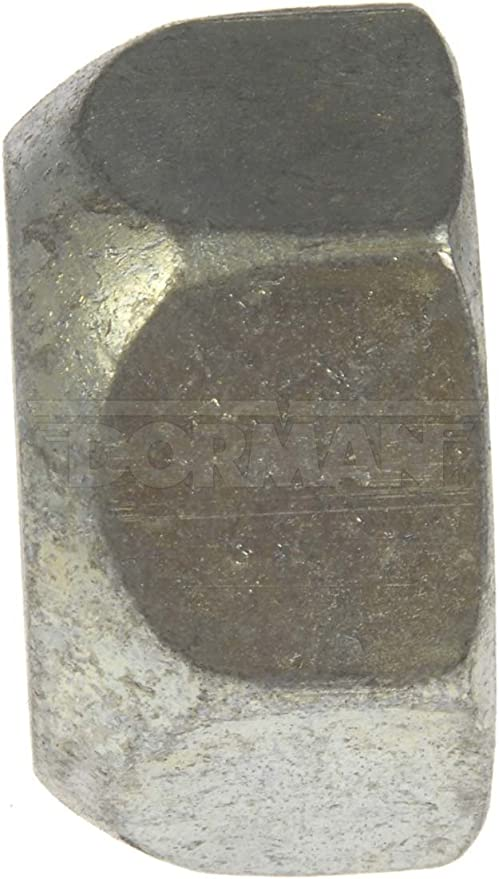 Dorman 611-0035.25 1 1//8 in 1 1//2 in Hex 0.88 in Pack of 25 Length Yellow Zinc - 16 Wheel Nut Standard