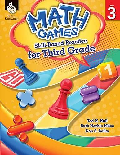 Math Games: Skill-Based Practice for Third (Math Practice Puzzles)