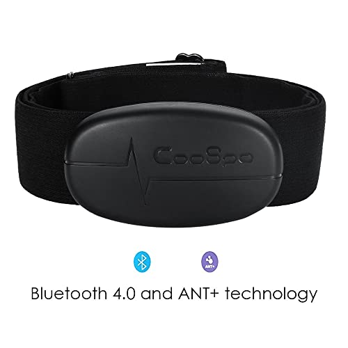 Smart Cardio Bluetooth 4.0 and ANT+ Wireless Heart Rate Monitor with Soft Chest Strap for iPhone and Android
