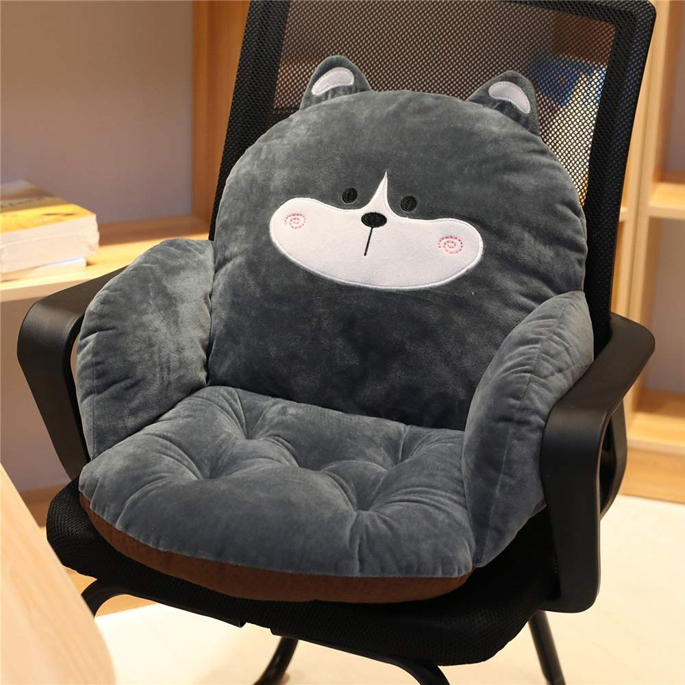 TTVUSGDW Back Cushion Coat Material Plush Not Easily Deformed Back Pillow Tatami (Color : D, Size : 35X35X55CM) by TTVUSGDW