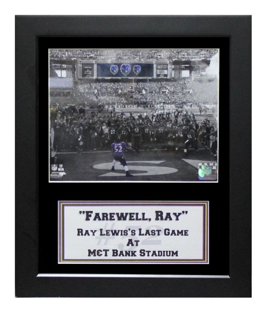 Encore Select 141 – Select 85 NFL Baltimore RavensデラックスフレームRay Lewis Lewis Encore Say