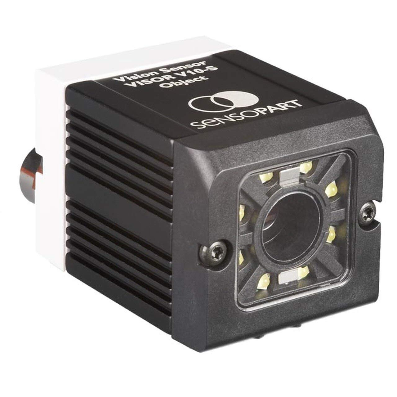 SensoPart V20-CR-S2-W12 Code Reader,Standard,1D//2D,12mm,White LEDs,1280x1024,RS422//RS232,EtherNET//IP 536-91044