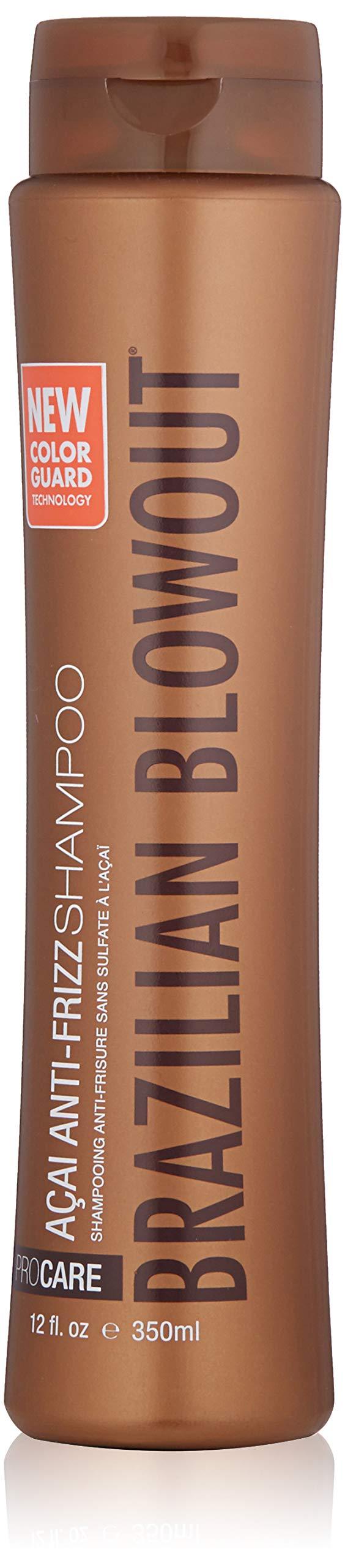 Brazilian Blowout Acai Anti Frizz Shampoo, 12 Fl Oz by BRAZILIAN BLOWOUT