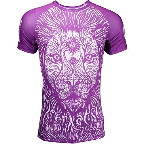 Meerkatsu Ranked Rashguards - Purple - X-Large