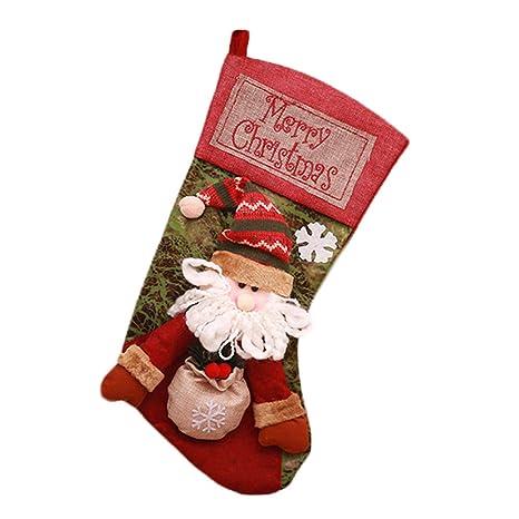 Topdo Bolsa de Regalo Navidad con Cajas de Papá Noel Lindo ...