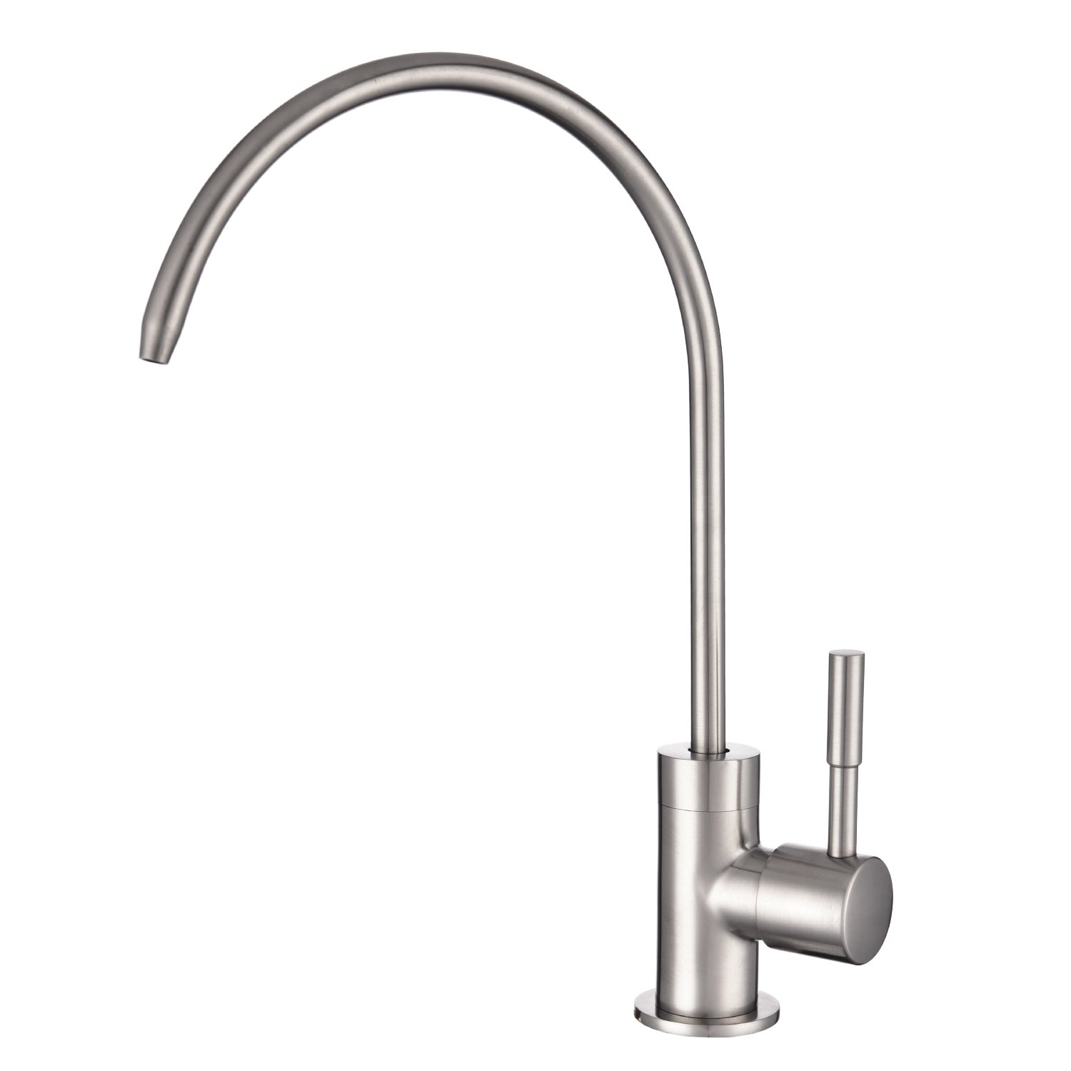 Drinking Water Filter Tap Stainless Steel Brushed Peppermint