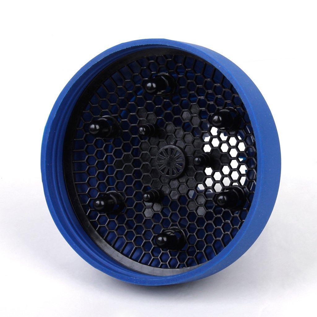 USport - Difusor de pelo plegable para viaje, color azul