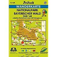 Fritsch Karten, Nr.59, Nationalpark Bayerischer Wald (Fritsch Wanderkarten 1:35000, Band 59)