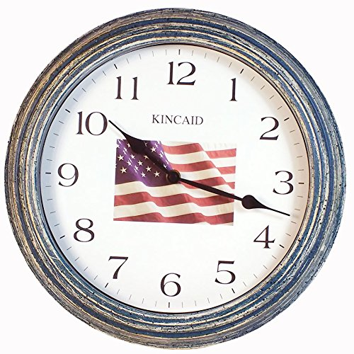 - Kincaid American Flag Clock