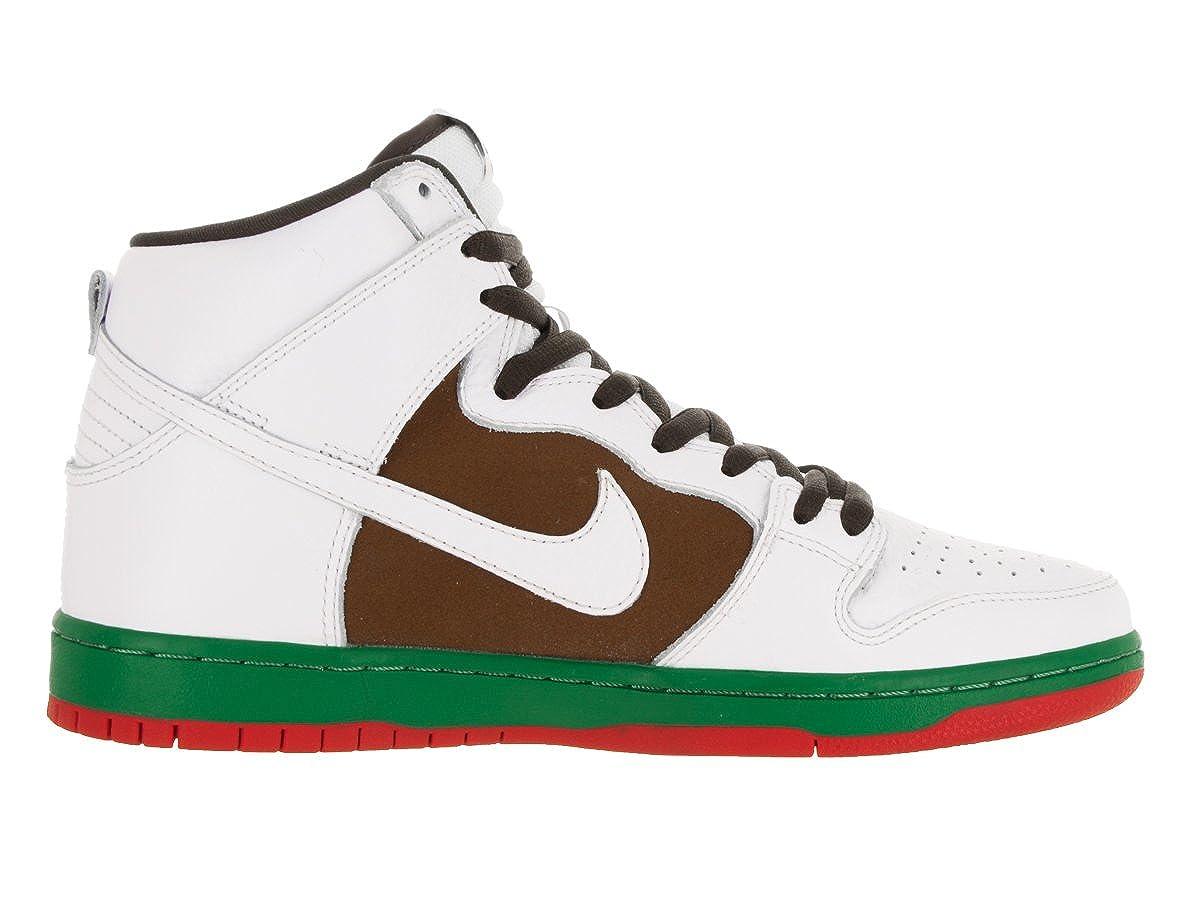 wholesale dealer 00ef5 e0093 Nike Men s Dunk High SB Pecan White Skate Shoe 12 Men US  Buy Online at Low  Prices in India - Amazon.in