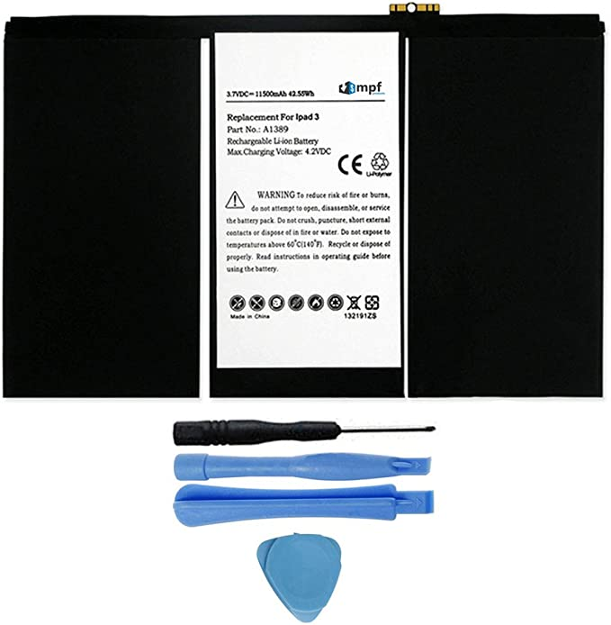 New Original Battery for iPad 3 4 A1389 616-0591 616-0592 A1460 A1459 A1458