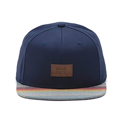 Vans VN0000X2L2H - VANS Gorra Allover It Snapback Men Azul, Talla ...