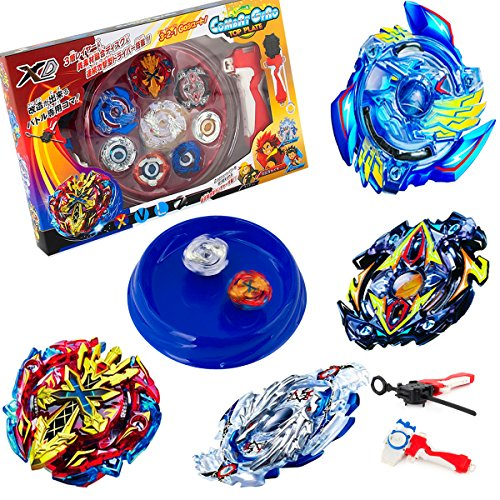 Bey battle Burst High Performance Battling Top set with 4D launcher Grip and Arena Battle Set