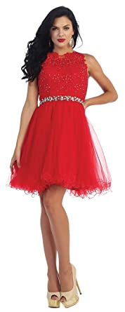 8a3726a6cb8 May Queen by Formal Dress Shops Inc FDS1280 Semi Formal Homecoming Dress  (4