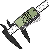 Digital Caliper, Vodlbov 0-6 inch/150mm Calipers Measuring Tool with Extra-Large LCD Screen, Electronic Vernier…