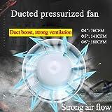 SAILFLO Exhaust Fan 6 Inch Inline Duct Booster Fan