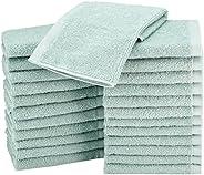 Amazon Basics - Toallitas de felpa, secado rápido y extra absorbentes