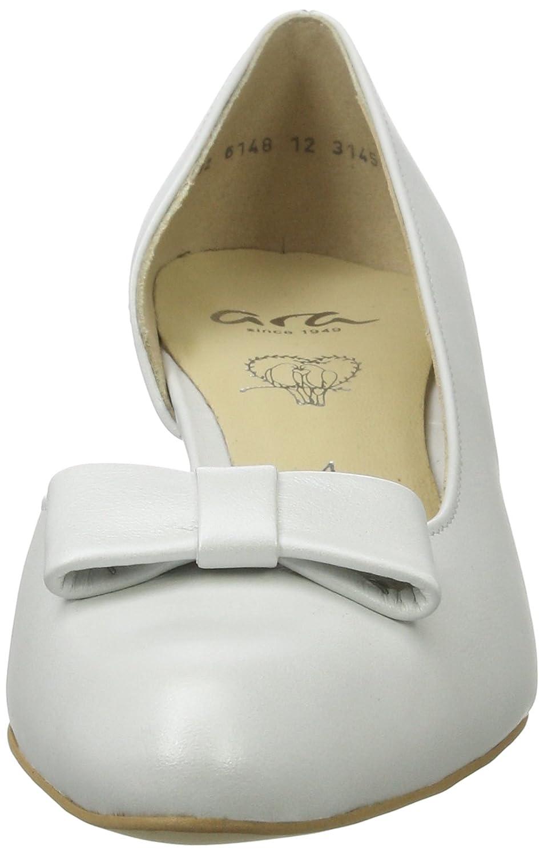 Ara Damen Knokke Pumps, Weiß Weiß Pumps, (OffWeiß) c18848