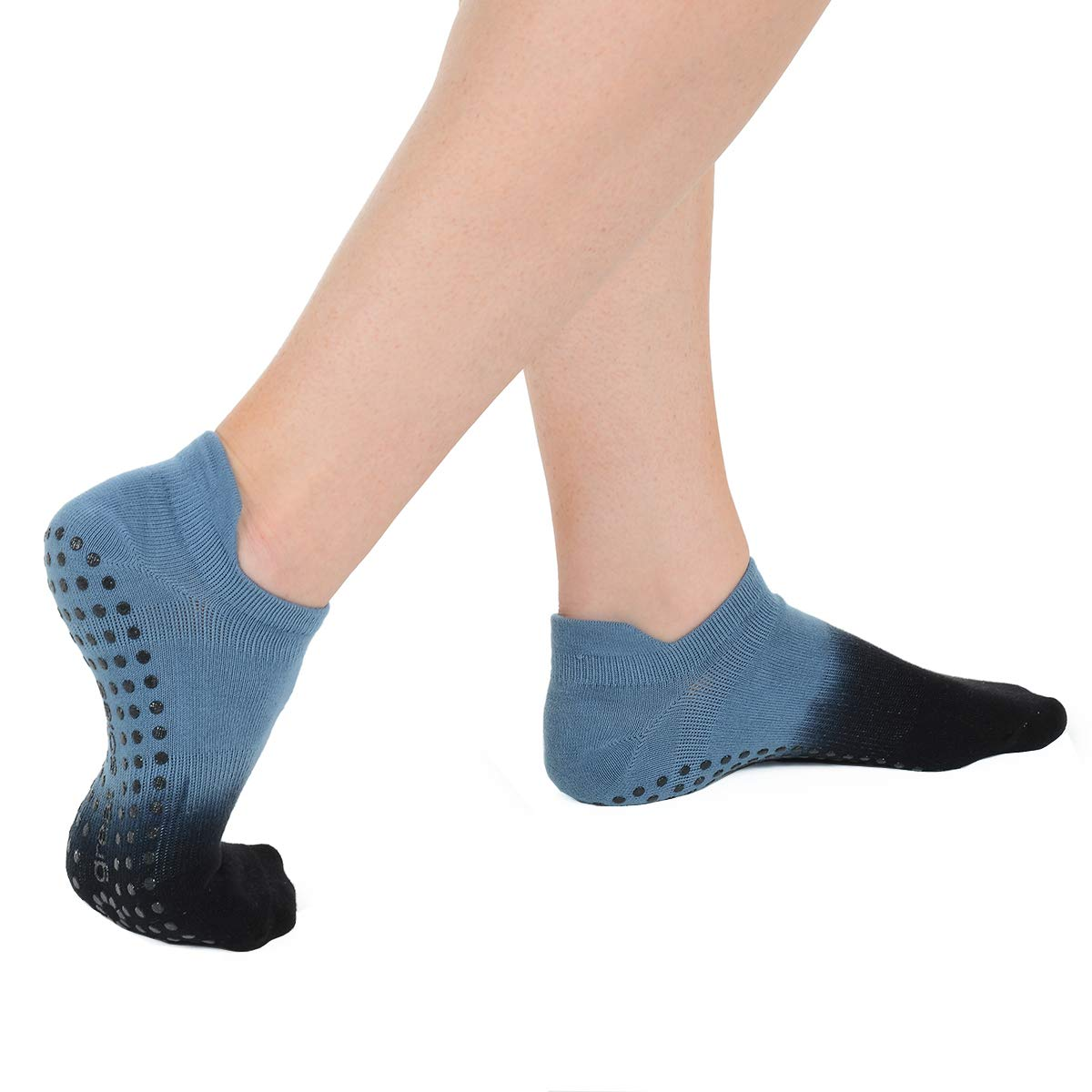 and Barre Great Soles Womens Ombre Dyed Grip Socks for Pilates Yoga