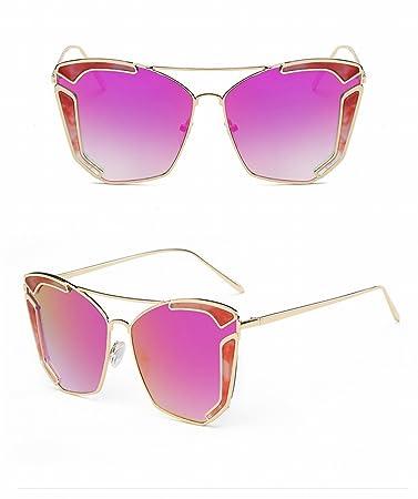 Persönlichkeit Catwalk Sonnenbrille Weiblich Blendend Sonnenbrille Katze Augen Bis Menschen Konkaven Modellierung Gläser Schildpatt CBvMaO2