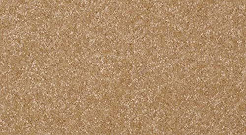 Koeckritz 7 ROUND Area Rug Carpet. LIGHT AMBER ALE GOLDEN BROWN 30 oz. Thick. 100 Polyester fiber, Medium Density, Soft and Durable. MULTIPLE SIZES, SHAPES and Brilliant Colors.