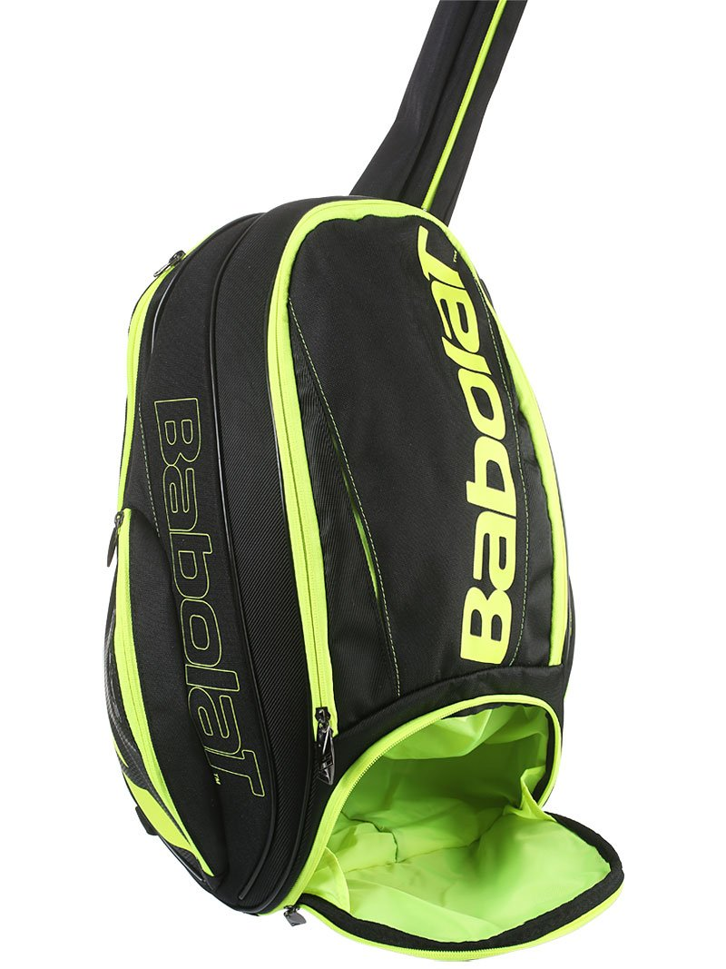 Babolat Pure Black/Fluo Yellow Backpack Bag by Babolat (Image #6)