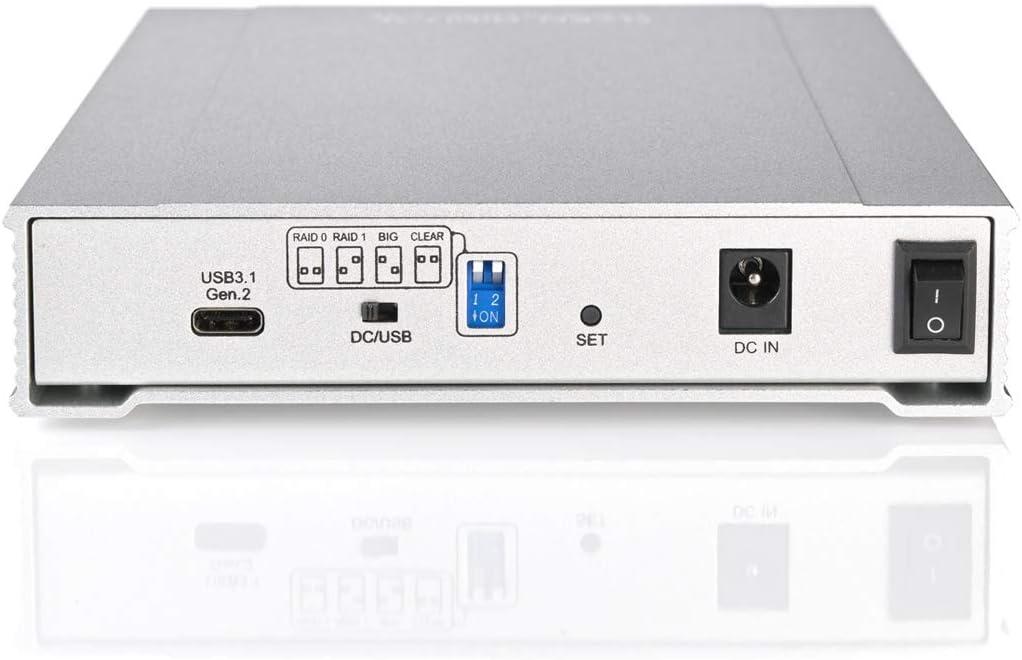 Oyen Digital 8TB SSD MiniPro RAID V3 USB-C Solid State Dual Drive