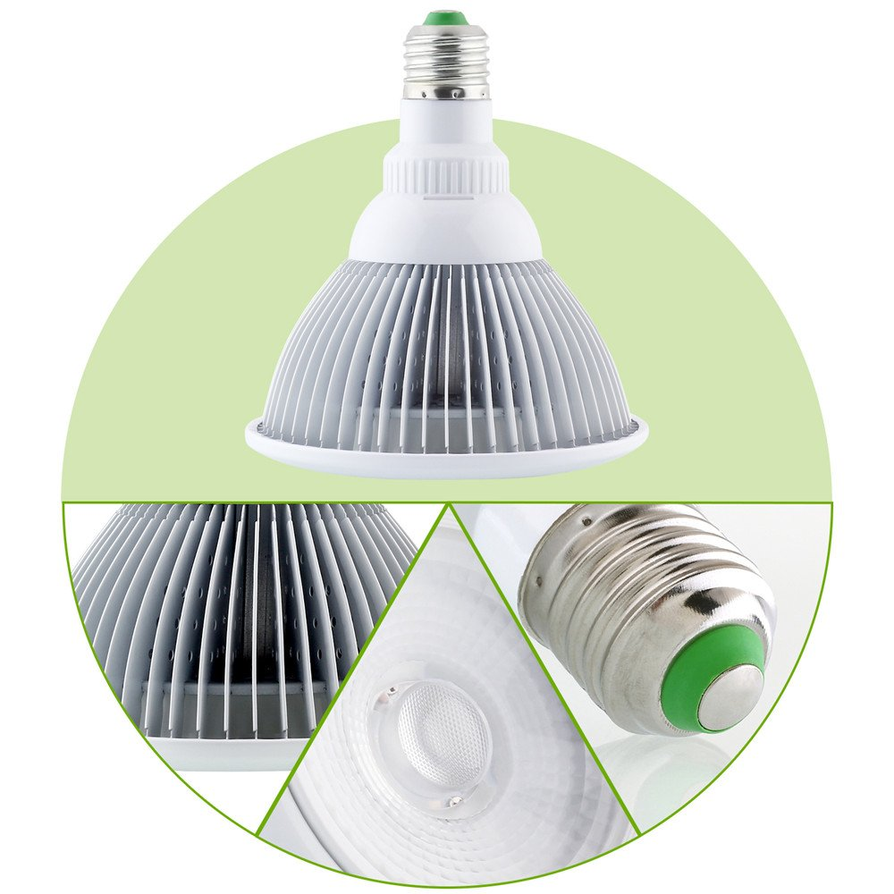 Amazon.com: mabor LED Plant Grow foco para invernadero de ...