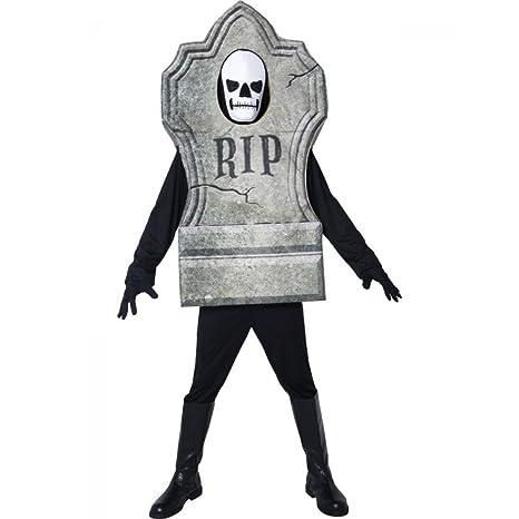 Costume Halloween Carnevale Adulto Lapide Tomba Morte Smiffys  09086 ... ec4eab25e310