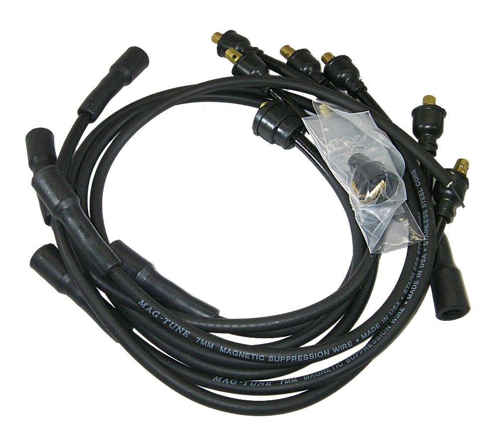 Amazon.com: Moroso 9050M Mag-Tune Ignition Spark Plug Wire Set ...