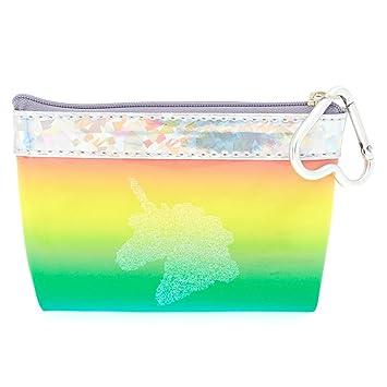Claires - Monedero de unicornio arcoíris para niña ...