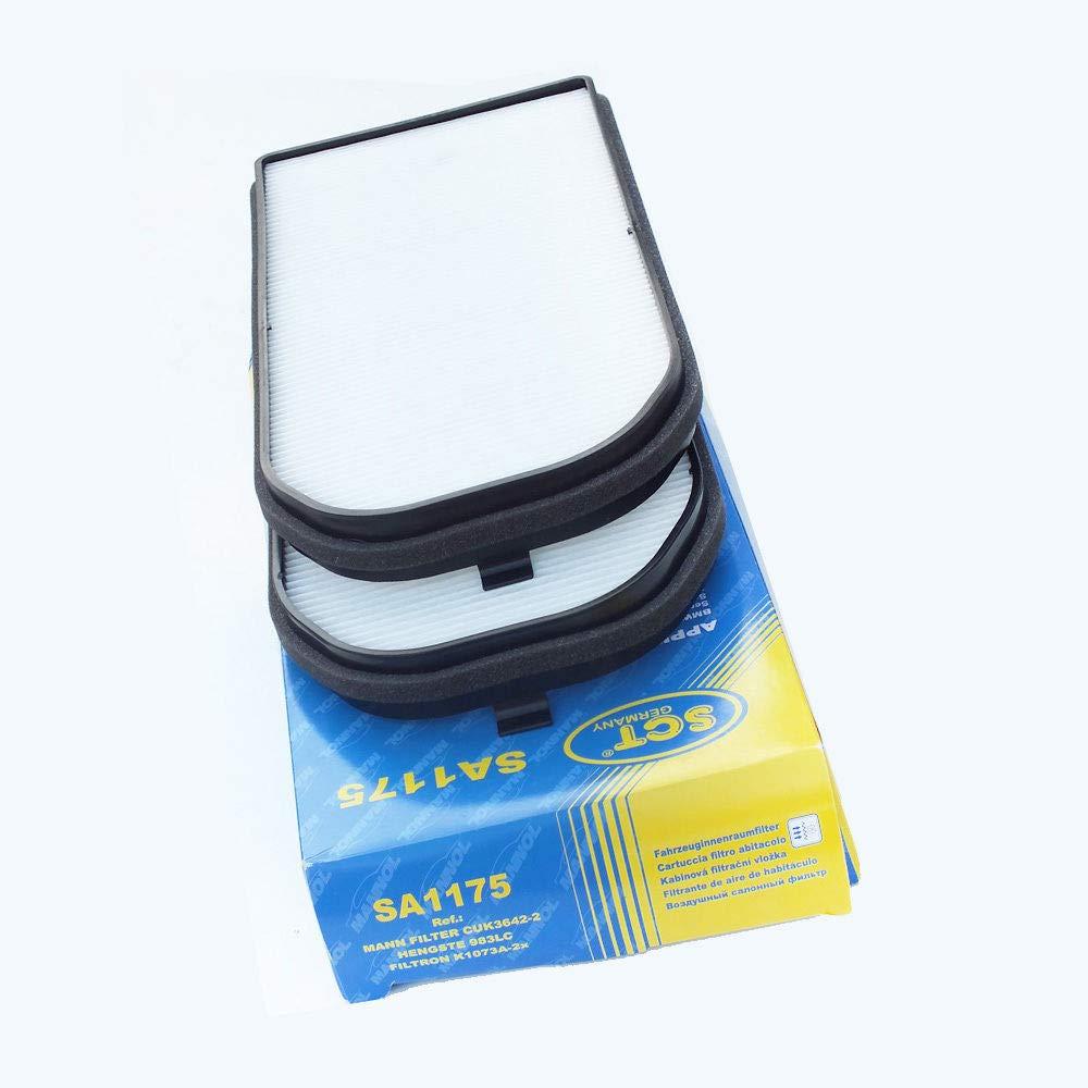 SCT Germany Innenraumfilter SA1175 Mikrofilter (2er Set)