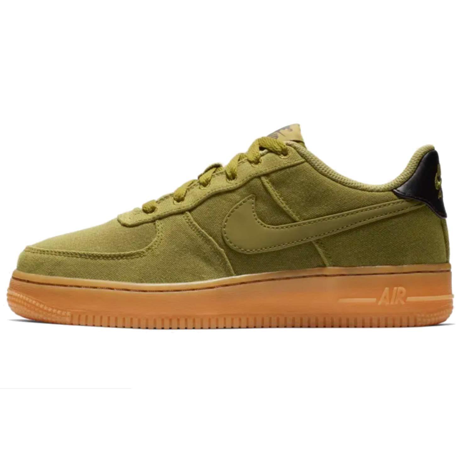 MultiCouleure (Camper vert Camper vert-gum Med marron 300) Nike Air Force 1 Lv8 Style (GS), Chaussures de Fitness garçon 38 EU