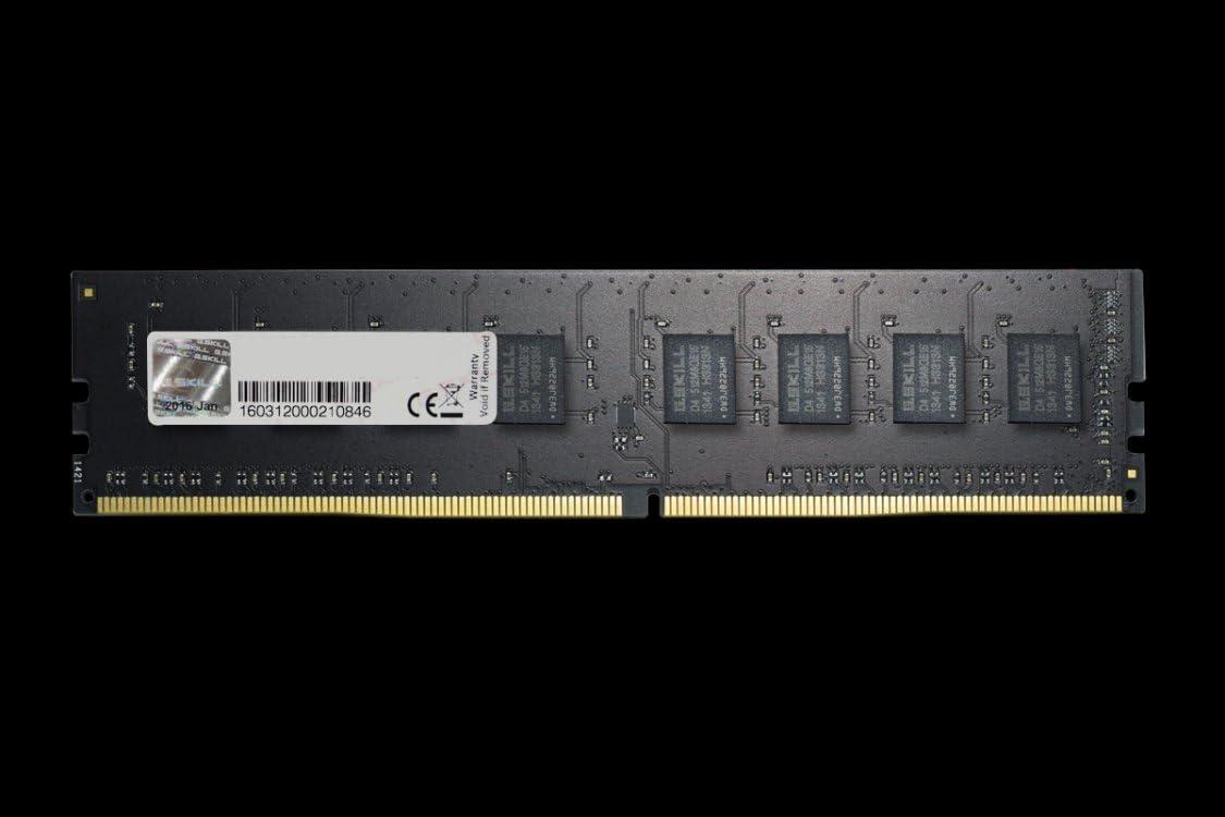 G-Skill Gskill F4/2400//°C17S F3-1600//°C11D-8GNT DDR4/8GB Memory Black