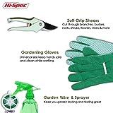 Hi-Spec Garden Folding Stool Seat & Garden Tools