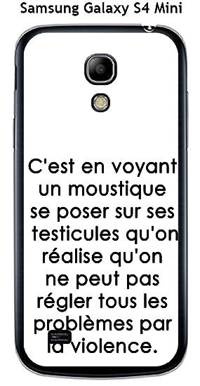 Onozo Carcasa Samsung Galaxy S4 Mini Design citación C Est ...