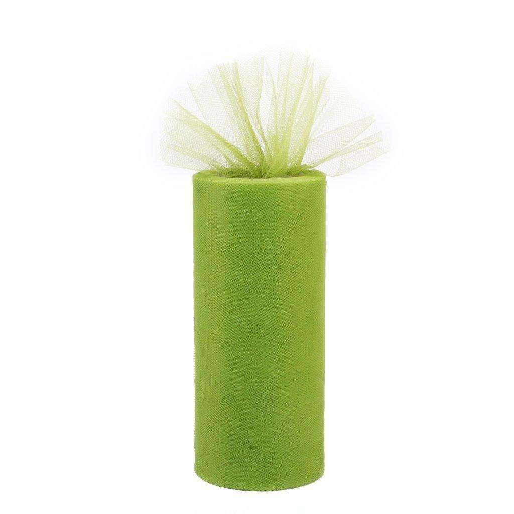 rollo de carrete hecho de gasa de decoracion de boda R Rollos de gasa SODIAL verde de hierba