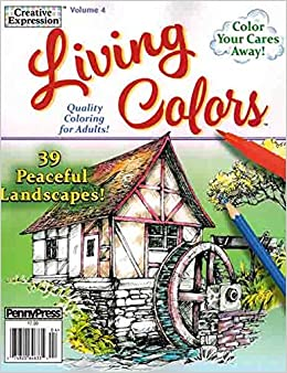 Creative Expression Living Colors Volume 4: b: 9783598689154: Amazon ...