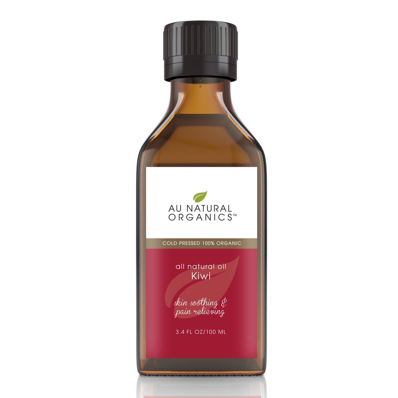 Au Natural Organics Kiwi Seed Oil 3.4 Oz | 100 Ml